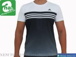 Áo Thể Thao Nam Adidas Trắng Đen AAT13