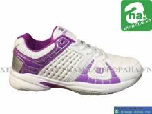 Giày Tennis Nữ Trắng Tím TN11
