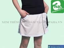Váy tennis nữ trắng VADA9