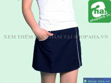 Váy tennis đen VADA10
