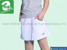Váy tennis nữ trắng viền đen VADA11