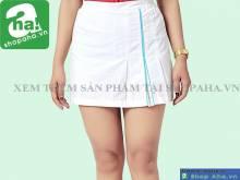Váy tennis đuôi cá trắng nữ VADA14