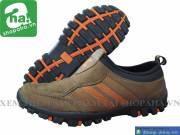 Giày xỏ không dây Nam nâu cam KD333