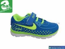 Giày baby nike xanh dương viền chuối BBB222