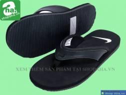 Dép Kẹp Nike Đen Móc Trắng DKDA01