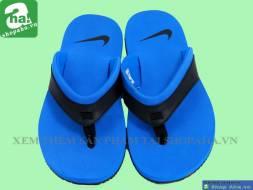 Dép Kẹp Nike Xanh Móc Đen DKDA02