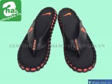 Dép Kẹp Nike Đen Móc Cam DKDA07