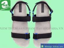 Giày Sandal Nam Xám Đen  SHDA13