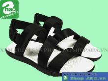 Giày Sandal Nam Trắng Đen SHDA14