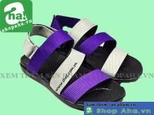 Giày Sandal Nữ Đen Tím SHDA20