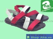 Giày Sandal Nữ Đen Đỏ  SHDA21
