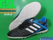Giày Đá Banh Size Lớn Đen Xanh Dương DSB12