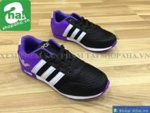 Giày Thể Thao Thời Trang Nữ Nike Tím Đen DAZ9