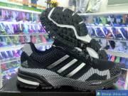 Giày Thể Thao Size Lớn Nam Adidas Đen DFD1