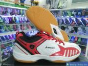 Giày Cầu Lông Nam Kawasaki Đỏ Trắng DFD3