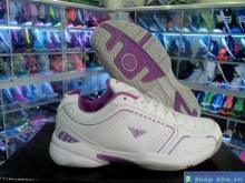 Giày Tennis Nữ Victor Tím Trắng DFD12