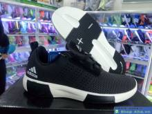 Gìay Thể Thao Chạy Bộ Adidas Nam Đen DFD18