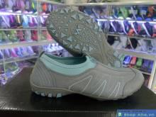 Giày Xỏ Không Dây Hama Nữ Xám DFD19