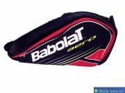 Túi Đựng Vợt Tennis Babolar Đen Đỏ DWA6