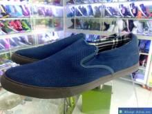Giày Thời Trang Size Lớn Mania Xanh Navy TRG1
