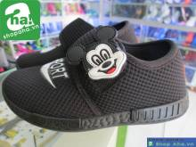 Giày Baby Mickey Đen  B01