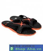 Dép CaoSu Adidas Đen Cam NT001