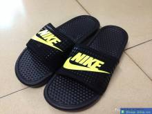 Dép Nike Đen Vàng NT006