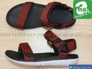 Sandal Nam Đen Đỏ ADD12