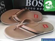 Dép Hugo Boss Nâu Nhạt HGB14