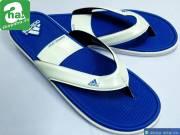 Dép Kẹp Adidas Trắng Xanh Dương DKN201