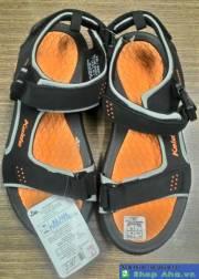 Sandal Nam Kaido Đen Cam KDS012
