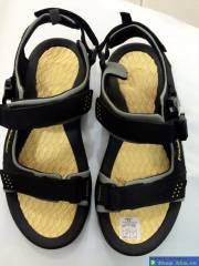 Sandal Nam Kaido Đen Vàng KDS016