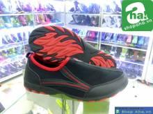 Giày Xỏ Không Dây Hama Nữ Đen Đỏ GHM05