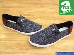 Giày Lười Thời Trang Nam Xám GNT55