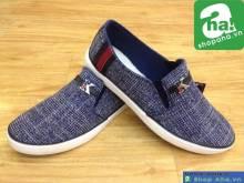 Giày Lười Thời Trang Nam Xanh GNT56