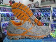 Giày Size Lớn 361 Xám Cam GNK301