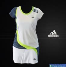 Váy tennis Adidas trắng FDG001