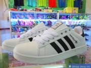 Giày Adidas đế bằng trắng GTR001