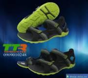 Giày sandal nam đen chuối GSD005
