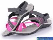 Sandal nữ xám hồng SDF001