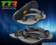 Sandal Vento nữ xám đen SDF003
