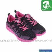 Giày Bitis Hunter Nữ Hồng Đen BHF008