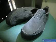 Giày Xỏ Thời Trang Nam Xám HG13
