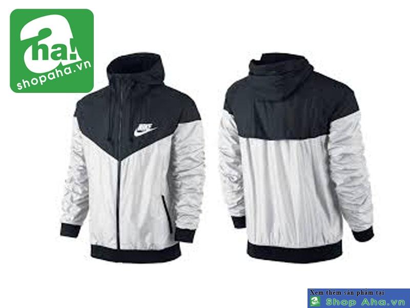 Áo Khoác Nike Màu Đen Trắng AKKT06