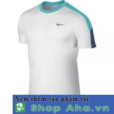 áo thể thao nike nam viền xanh TT0002