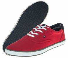 Giày Sneakers Tommy Big Size Đỏ HTD123