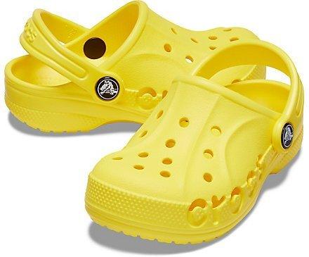 Dép Bít Mũi Crocs Bayaband Màu Vàng Big Size