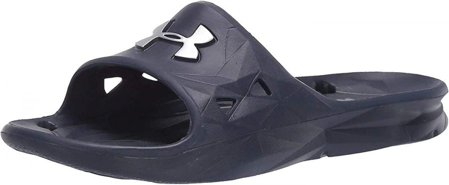 Dép Under Armour lgnite V Slides Xanh Big Size