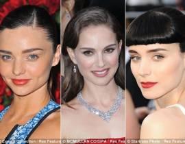 Kiểu dáng lông mày nào được các sao Hollywood lựa chọn