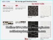 Gạch ốp tường 250x400 American bộ New York